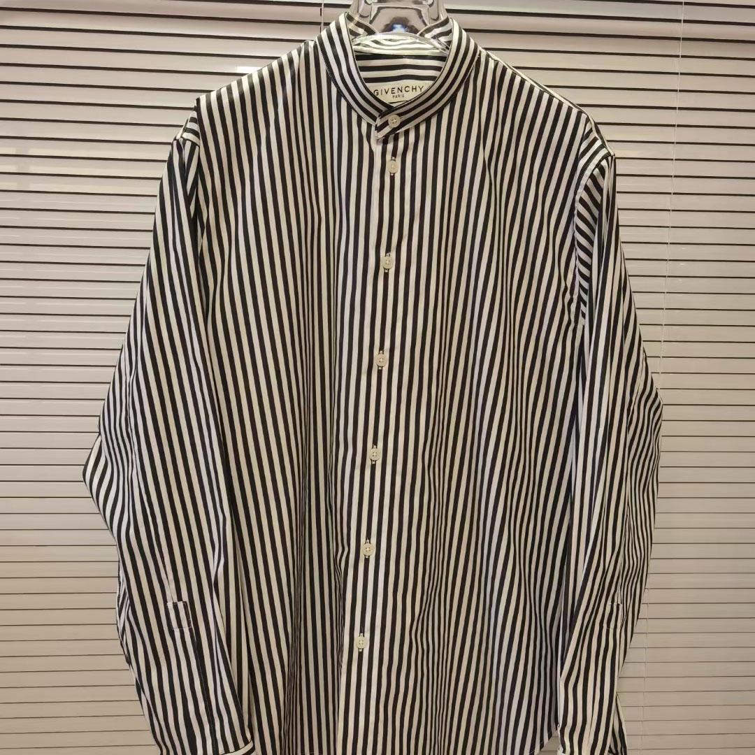 지방시 차이나카라 스트라이프 셔츠 - 레플킹