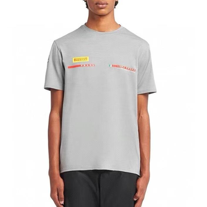 프라다 2021 리네아로사 피렐리 반팔 티셔츠 - 레플월드