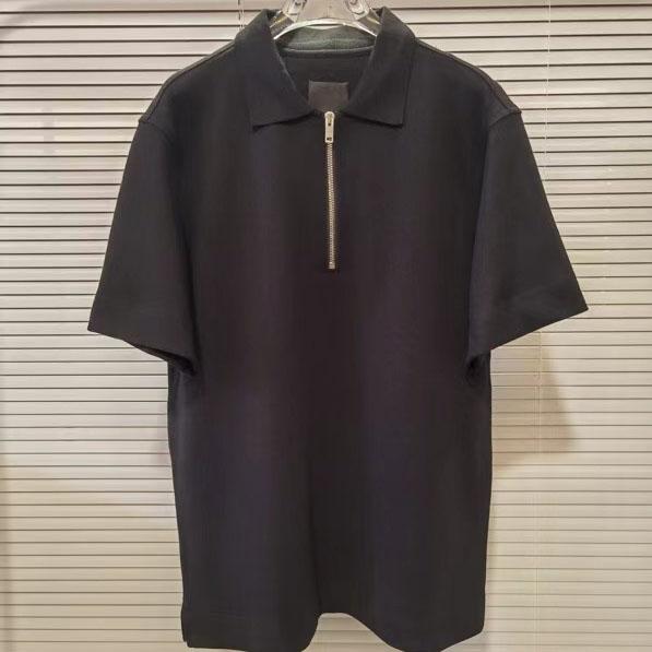 지방시지퍼 폴로 티셔츠 - 레플킹