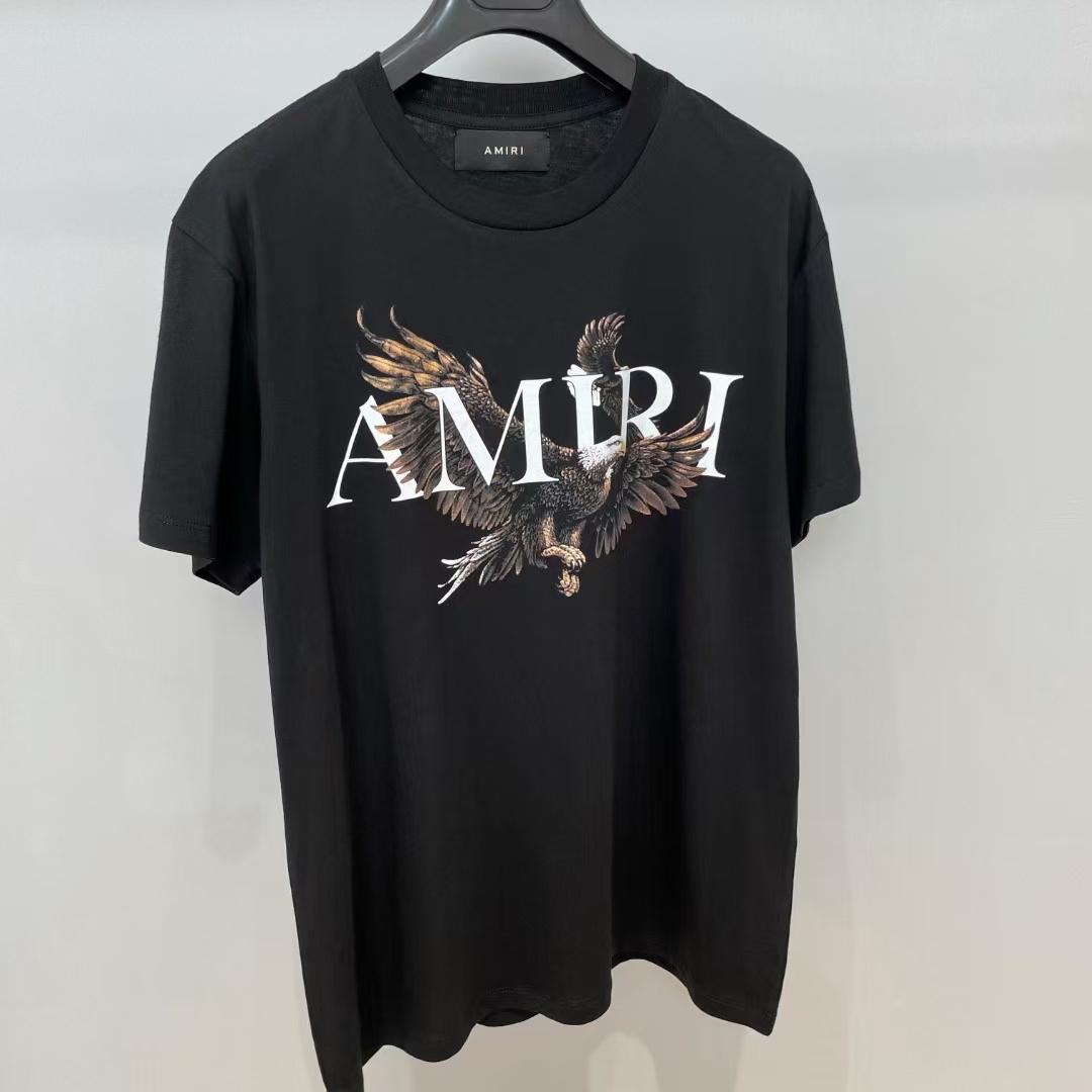 아미리 이글프린팅 반팔 티셔츠 - 레플월드