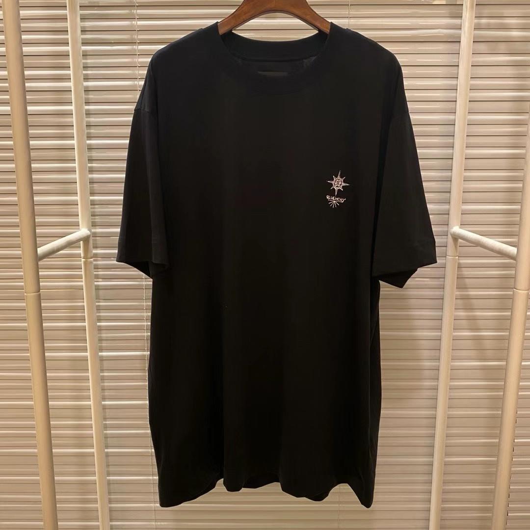 지방시 디플로마 박스프린팅 반팔 티셔츠 - 레플킹