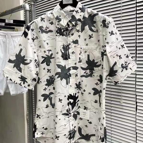 톰브라운 서핑 포켓 반팔 셔츠 - 레플월드