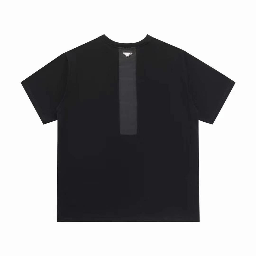 프라다 백사피아노 와펜 반팔 티셔츠 - 레플킹
