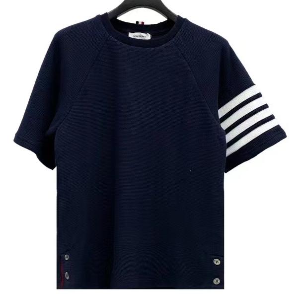 톰브라운 와플 엠보 포스트라이프 반팔 티셔츠 - Repleking